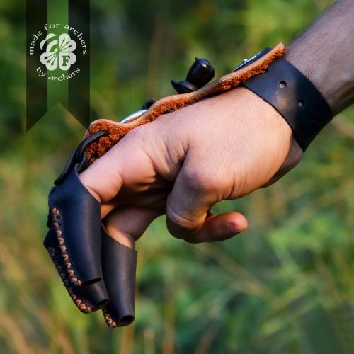 Захисна рукавичка для стрільби з лука