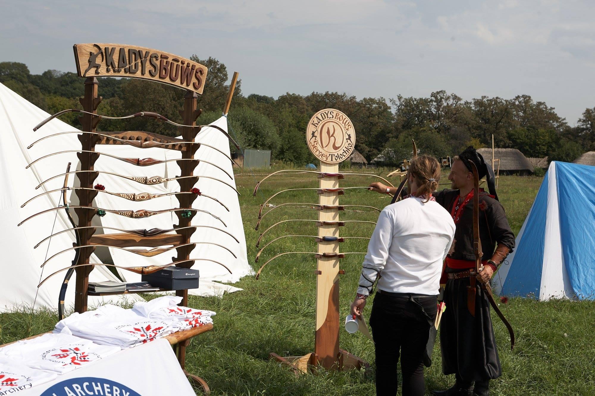 Традиційні луки, стрільба з лука