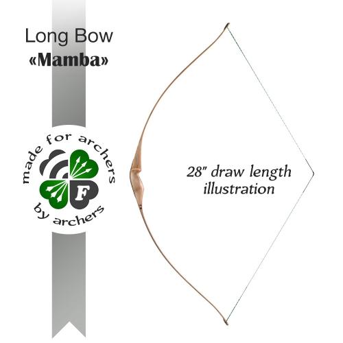 "Long bow ""Mamba"""