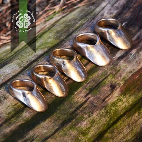 Кольцо для стрельбы из лука, латунь