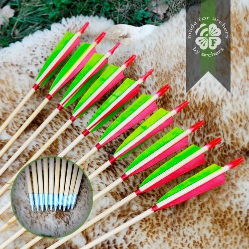 """Wooden Arrows 5/16"""""""